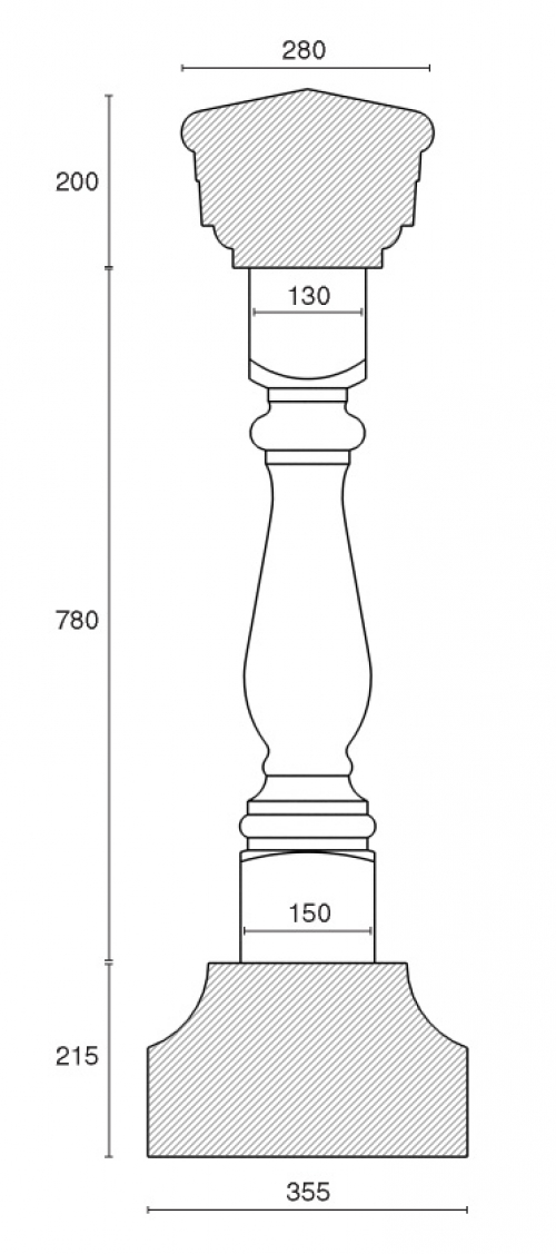Балюстрада BL 2