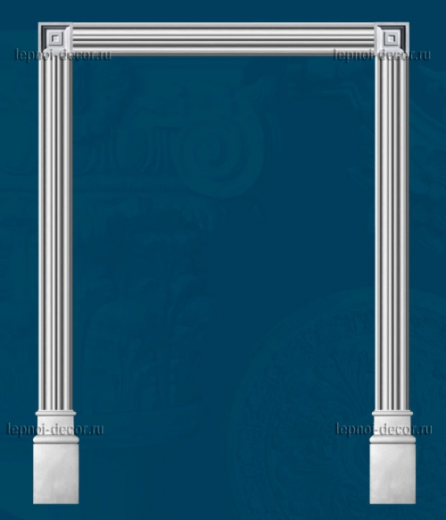 Дверной портал из гипса